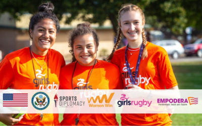 Girls Rugby awarded Women Win International Exchange to Brazil in Partnership With Empodera