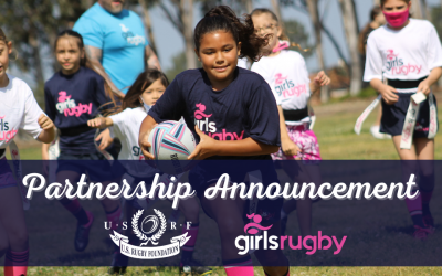 Girls Rugby Launches Partnership with the United States Rugby Foundation to Accelerate Growth of Grassroots Rugby.